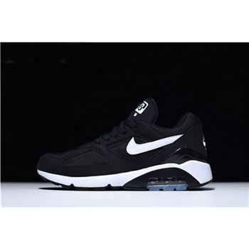 Nike Air Max 180 Black White Men's and Women's Size Trainers Running Shoes