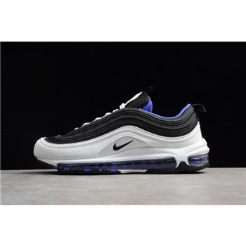 New Nike Air Max 97 White/Black-Persin Violet Men's Size Shoes 921522-102