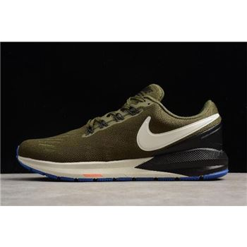Nike Air Zoom Structure 22 Olive/Black-White AA1636-300