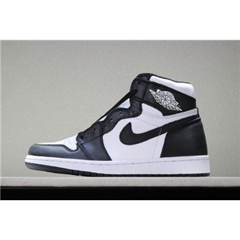 New Air Jordan 1 Retro High OG Black/White Men's Size Shoes 555088-010