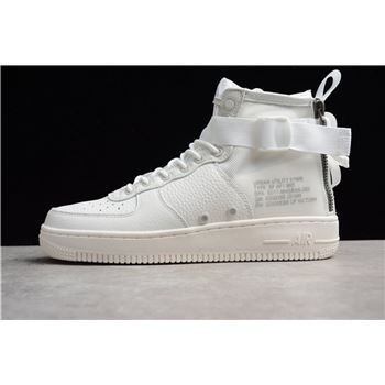 Cheap Nike SF-AF1 Mid Triple Ivory AA6655-100 Men's Size Shoes