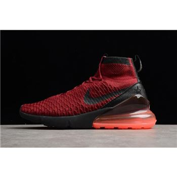 Nike Air Footsacpe Magsta Flyknit 270 Team Red/White AA6560-600 On Sale