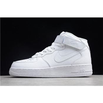Nike Air Force 1 Mid '07 Triple White 315123-111
